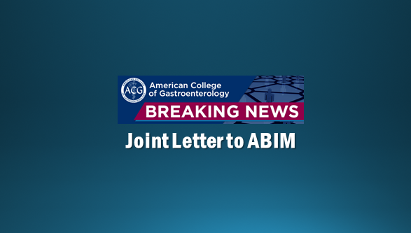 ACG Continues to Work to Improve MOC - American College of